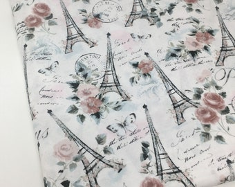 Paris Fabric Etsy