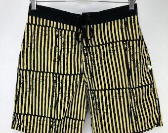 43e1430ddf203 Vintage Ocean Pacific OP Mens Baggies Swim Trunks Shorts Striped 80's 90's Surf  Beach Surfer