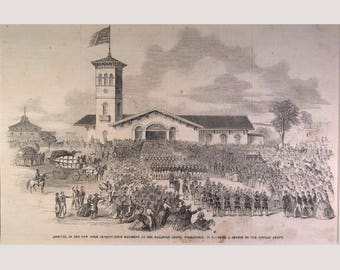 71st New York Regiment – Washington, D.C. - 1861
