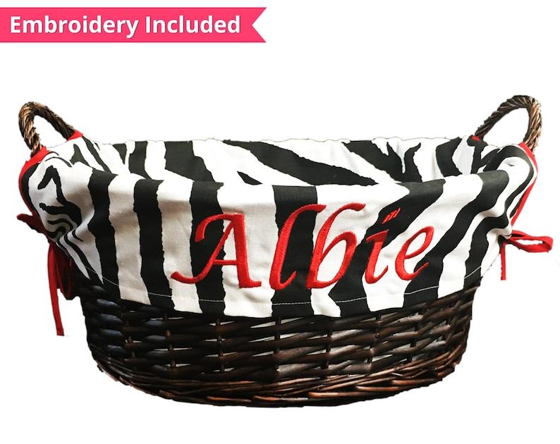 02e48947448b Personalized Dog Toy Box Toy Basket Pet Storage Custom   Etsy