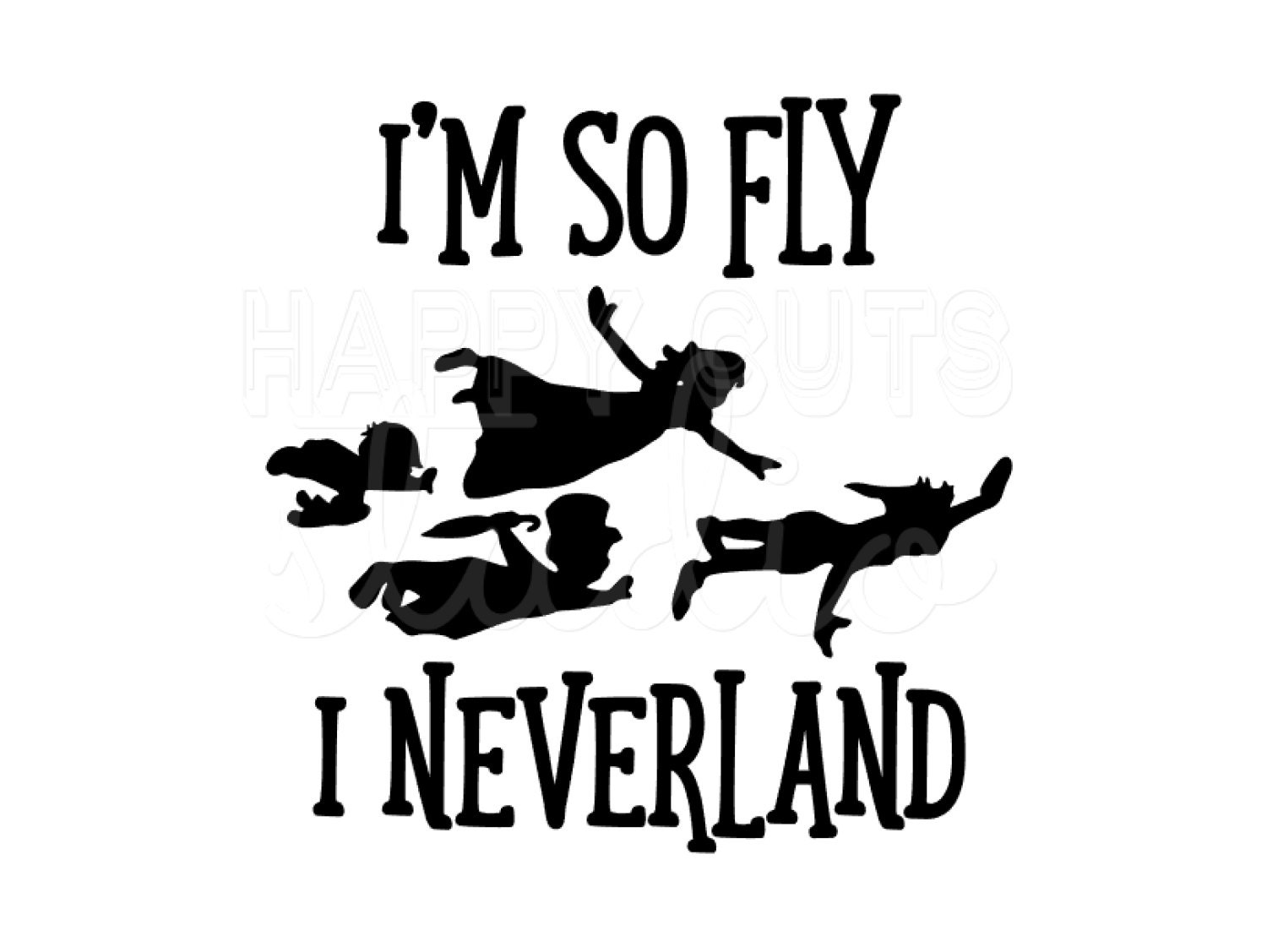 I\'m So Fly I Neverland Peter Pan Matching Family Father