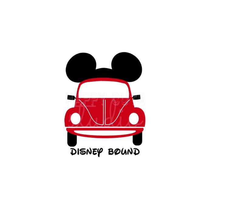 f7f674db5e6 Disney Bound Car Decal 4 Shirt Here I Come Road Trip Family