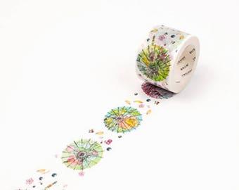 Paper Umbrellas -  Umbrella Washi Tape - Chinese Washi Tape - Chinese Umbrellas - Oriental Washi Tape - Wide Washi Tape (30mm X 8m)