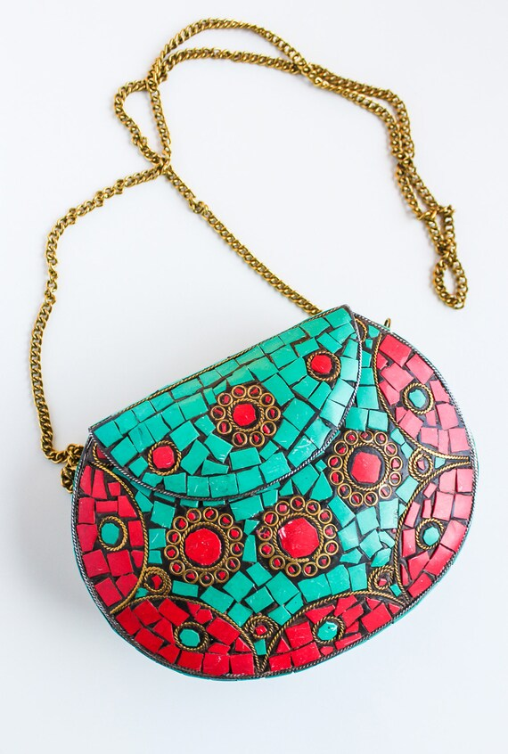 Bollywood Inspired Indian Boho Chic Crossbody Bag