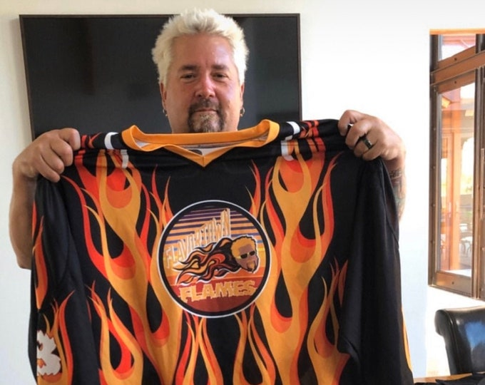 Flavortown Flames Hockey Jersey