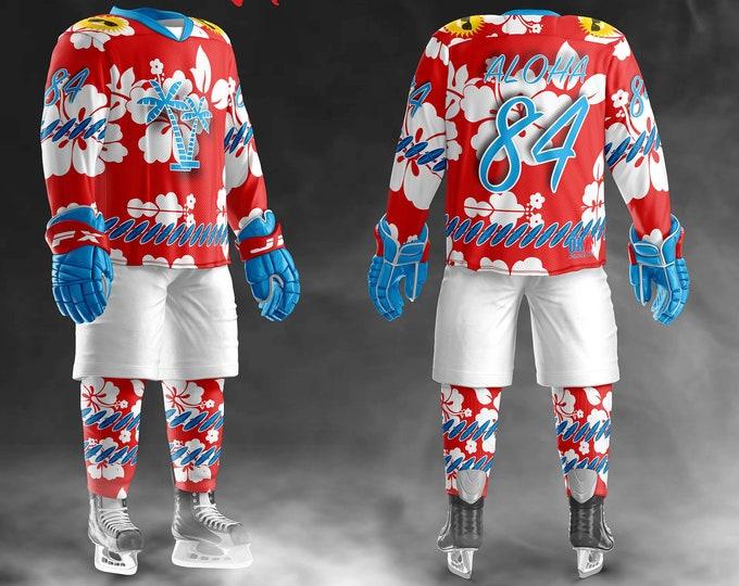 Summer Sweater Hockey Jerseys and Socks