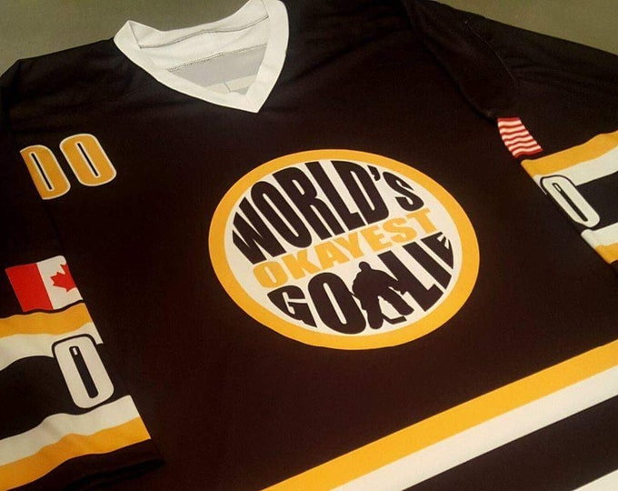 World's Okayest Goalie 2.0 Jerseys