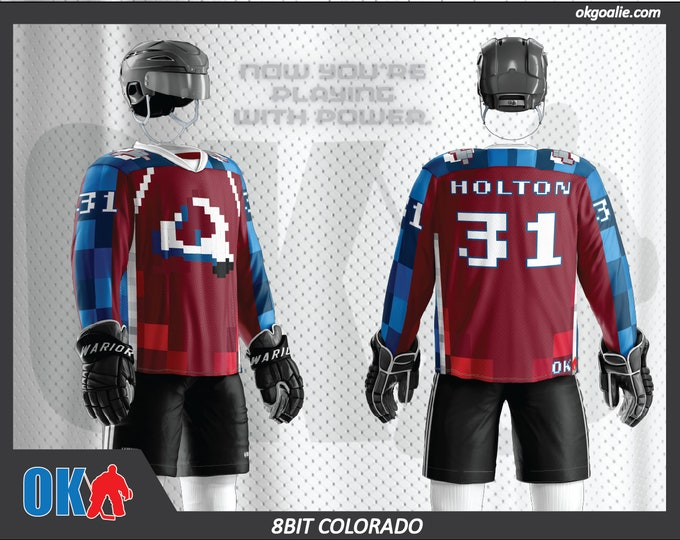 8bit Colorado Hockey Jersey