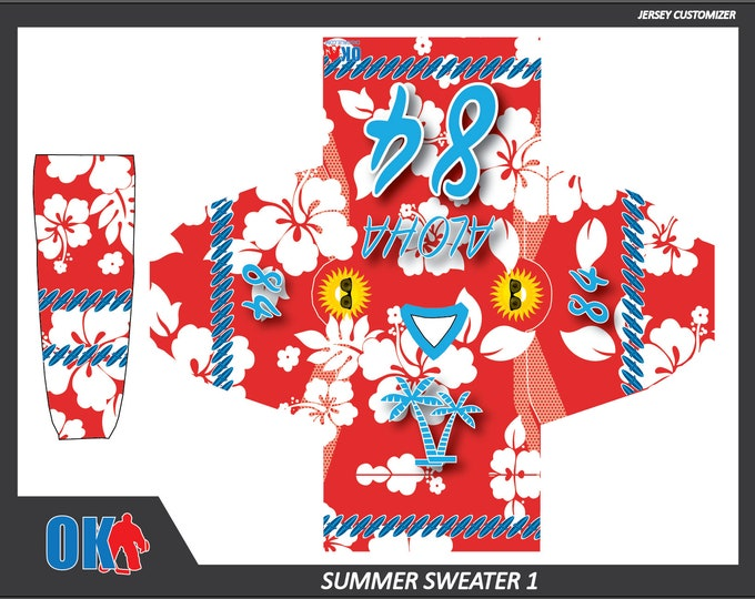 Summer Sweater Hockey Jerseys and Socks