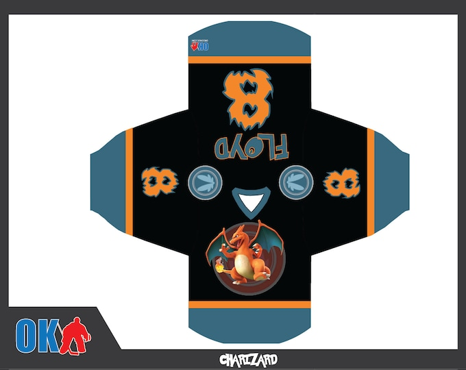 Charizard Hockey Jersey