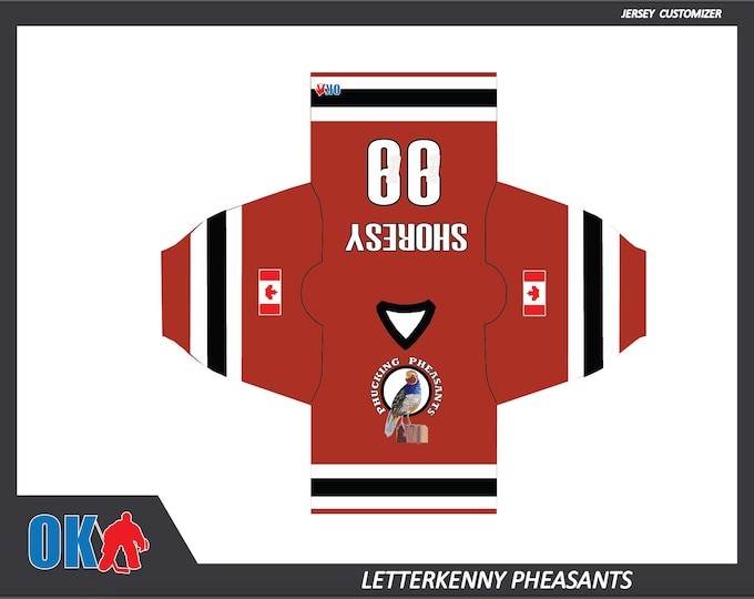 Phucking Pheasants Hockey Jersey