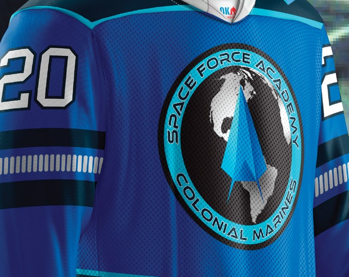 Space Force Academy Hockey Jersey