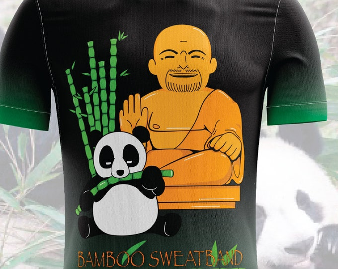 Panda-Head Vogel Hockey Bamboo Themed Jersey