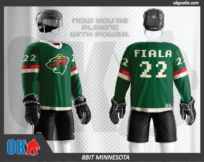 8bit Minnesota Hockey Jersey