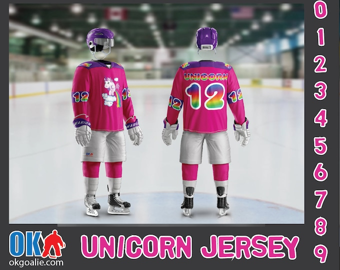 Pooping Rainbow Unicorn Jersey