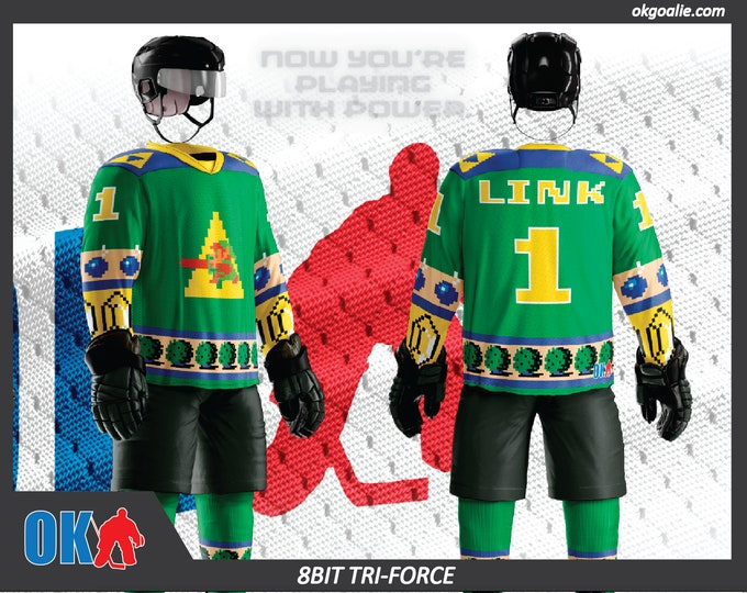 Tri-Force Flow 8bit Hockey Jersey
