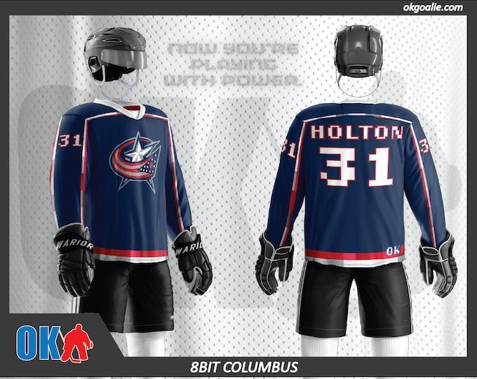 8bit Columbus Hockey Jersey