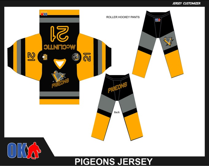Team Pigeons Uniforms (Arizona)