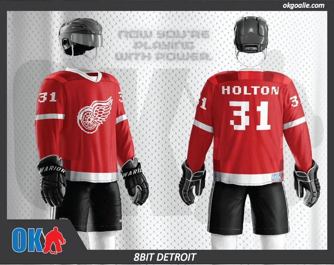 8bit Detroit Hockey Jersey