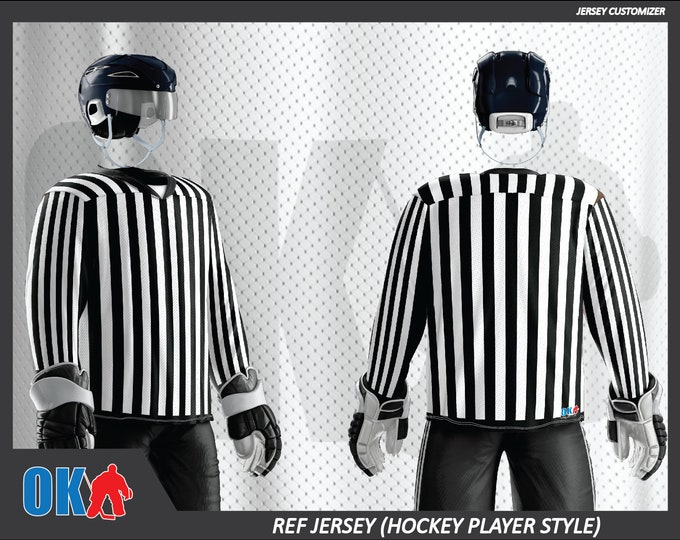 Referee Hockey Jersey (player cut)