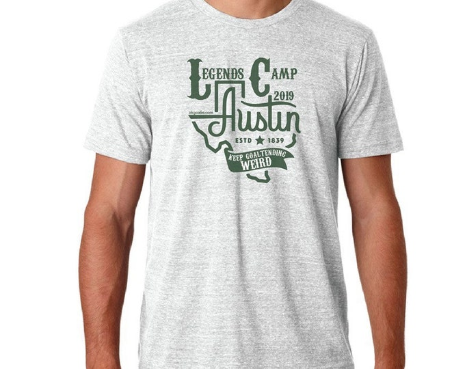 Legends Camp Austin 2019 tee shirt