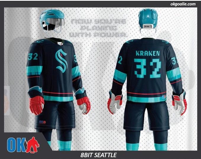 8bit Seattle Hockey Jersey