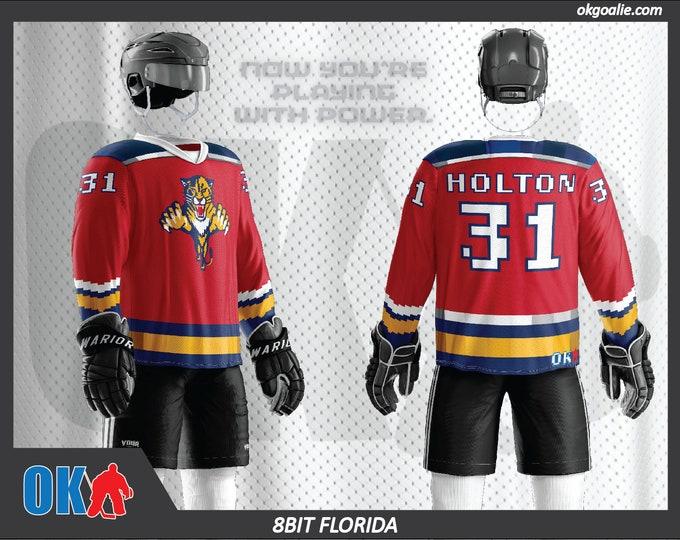 8bit Florida Hockey Jersey