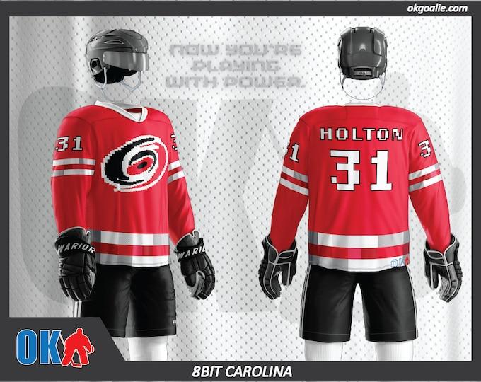 8bit Carolina Hockey Jersey