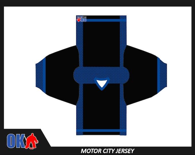 Motor City Custom Hockey Jersey