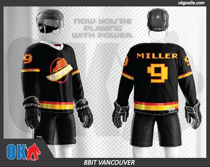 8bit Vancouver Hockey Jersey