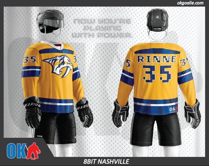 8bit Nashville Hockey Jersey