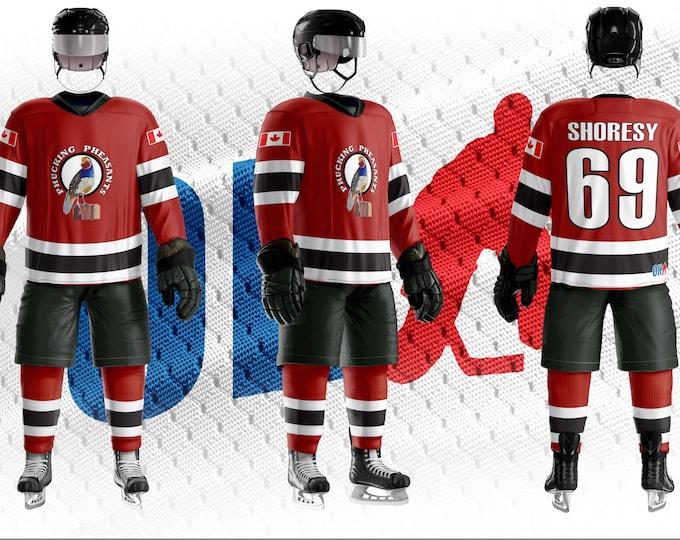 Phucking Pheasants Hockey Jersey