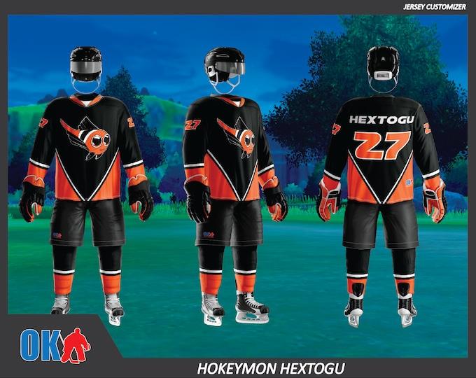 Hextogu Hokeymon Hockey Jersey