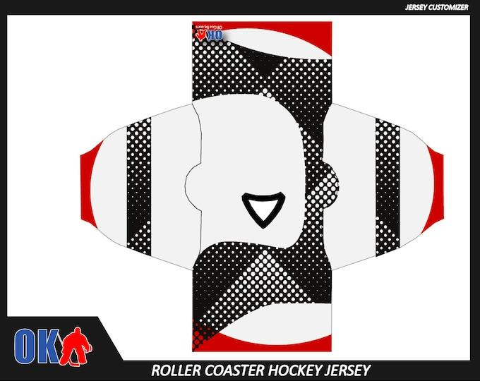 Roller Coaster Custom Hockey Jersey