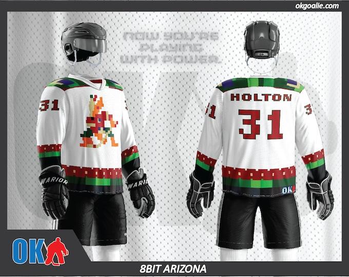 8bit Arizona Hockey Jersey (white or black available!)