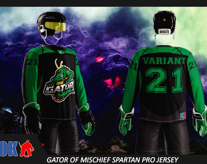 Gator of Mischief Ice Hockey Jersey