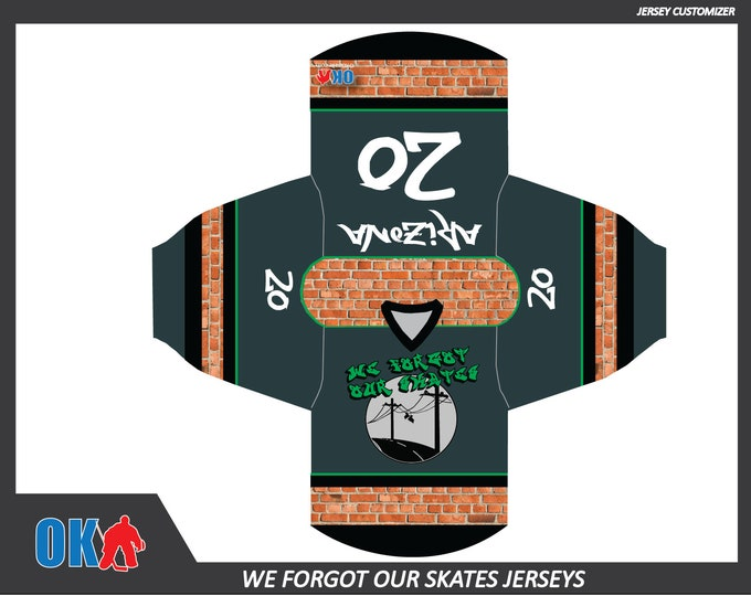 We Forgot Our Skates (AZ) Team Jerseys