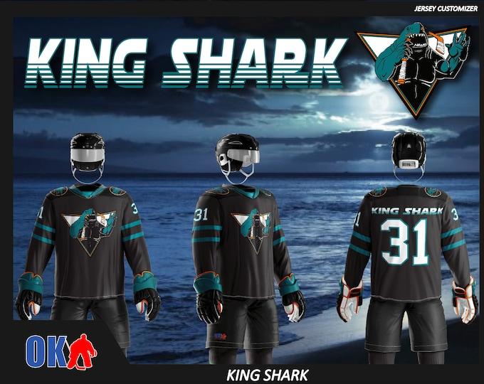 King Shark Ice Hockey Jersey
