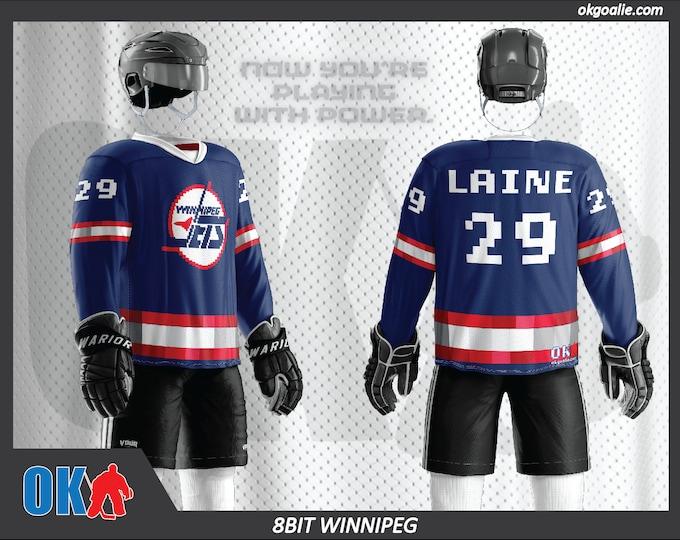 8bit Winnipeg Hockey Jersey