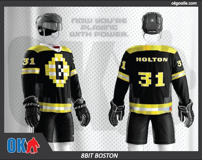 8bit Boston Hockey Jersey