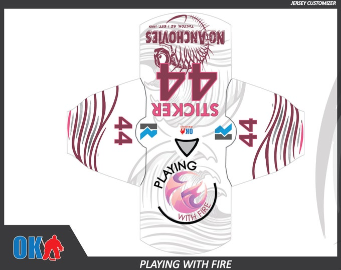 Playing With Fire (AZ) Team Jersey