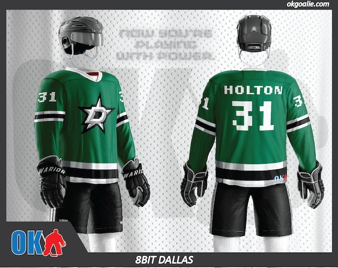 8bit Dallas Hockey Jersey