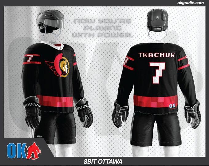 8bit Ottawa Hockey Jersey