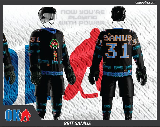 Samus Swagger 8-Bit Classic Hockey Jersey