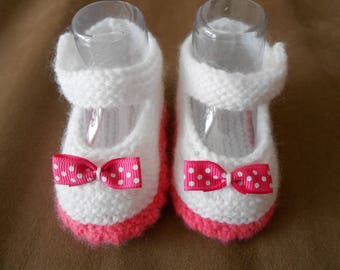 baby girl booties