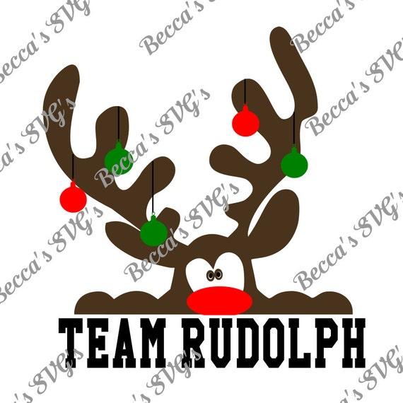 Capa de color 4 equipo de Rudolph SVG | Etsy