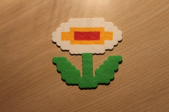 Feu Fleur Pixel Art Bead Sprite De Super Mario Bros