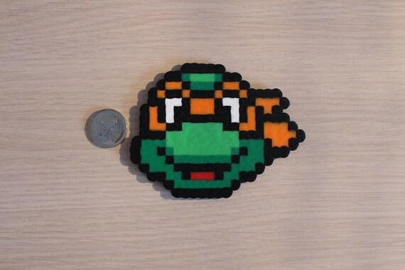 Teenage Mutant Ninja Turtles Pixel Art Bead Sprites
