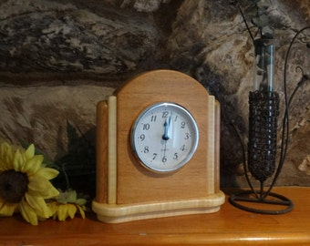 Mantel Clock, Mantle Clock, Art Deco Style - Beautiful Clock for Gift Idea - Gift for Clock Enthusiast