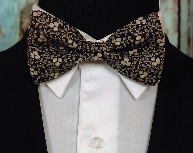 Floral Bow Ties – Floral Bow Ties for Men or Boys, also great for Wedding or Prom.